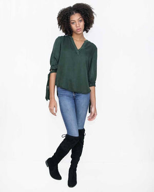 Hunter Green Fall Top