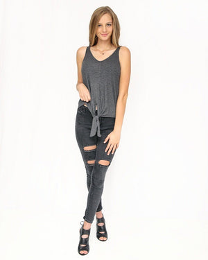 Callie Layering Knotted Tank - alma boutique
