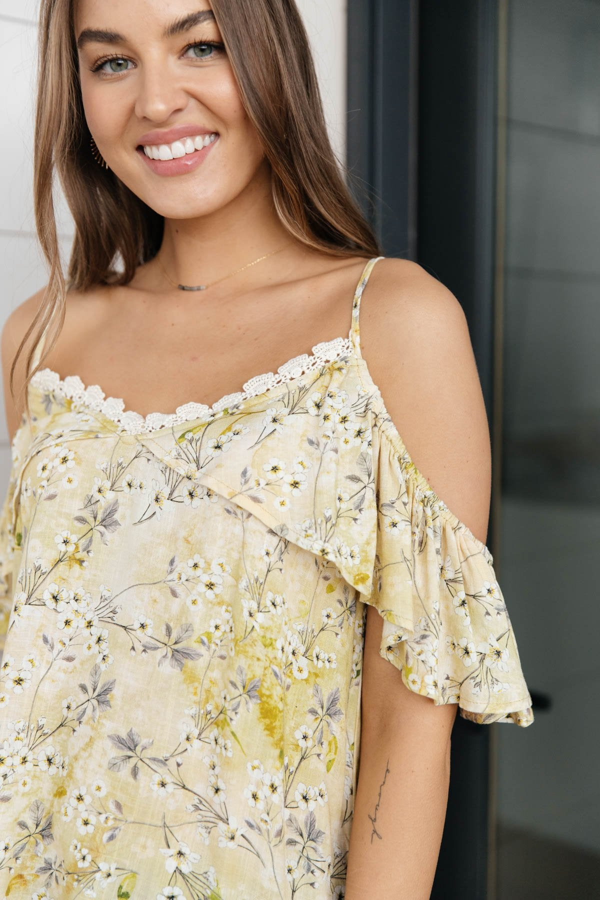 Blossom Dreams Yellow Top