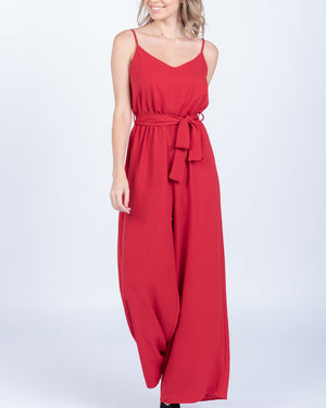 Mikayla Red Jumpsuit