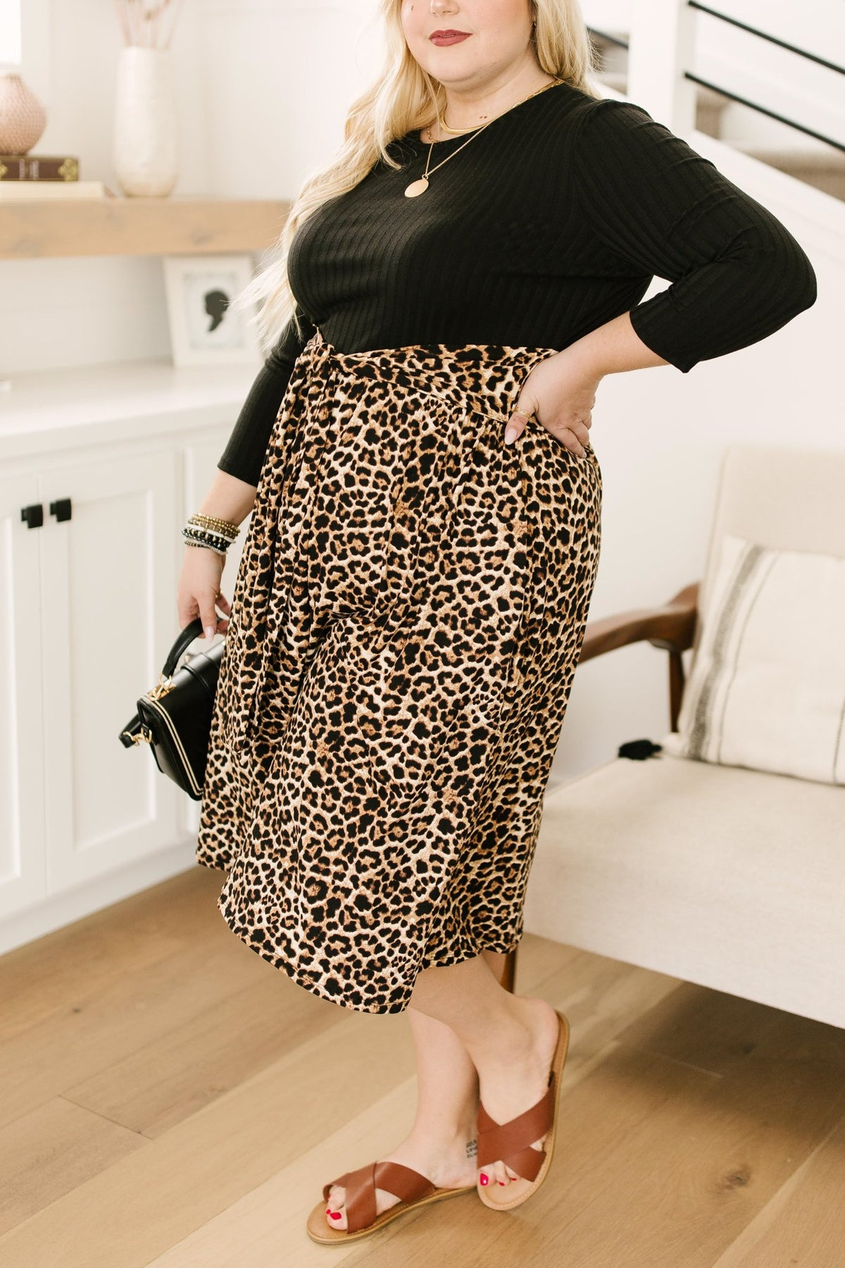 PREORDER: Shelby Animal Print Dress