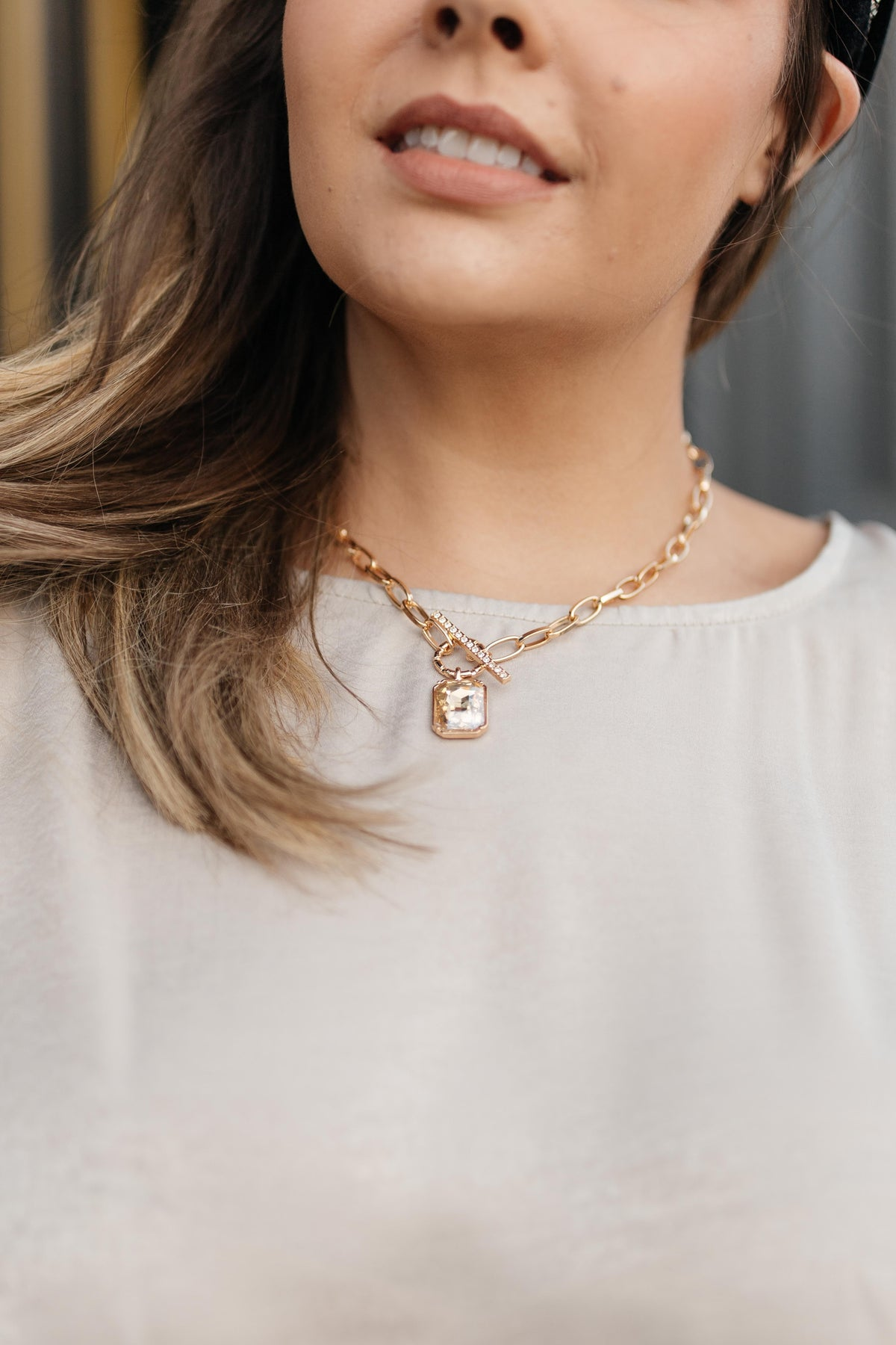 The Jewel Pendant Necklace