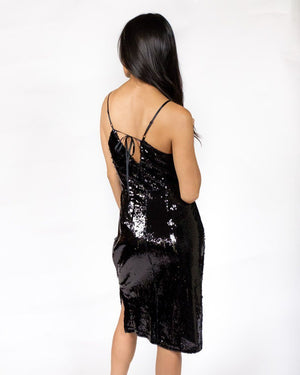 Own the Night Sequin Dress - alma boutique