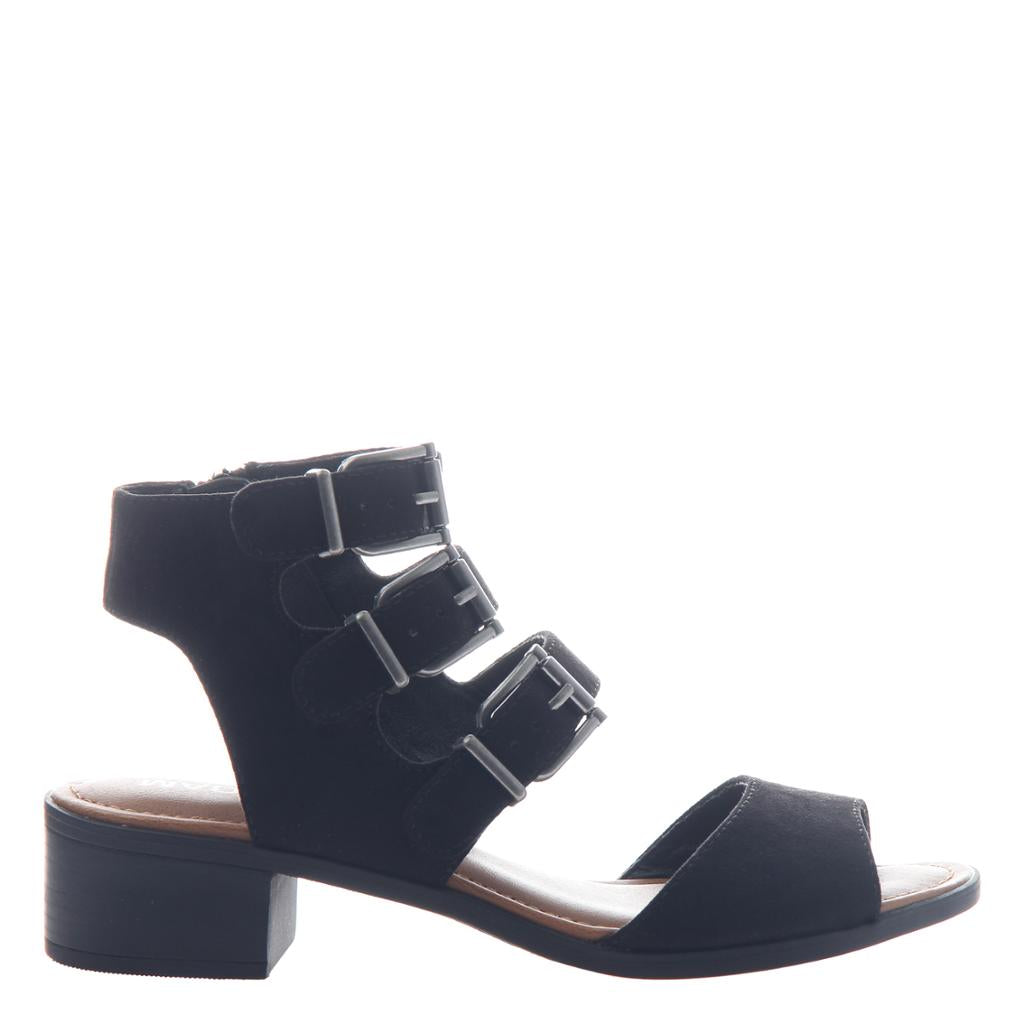 MADELINE GIRL - DRAGON FLY in BLACK Sandals - alma boutique