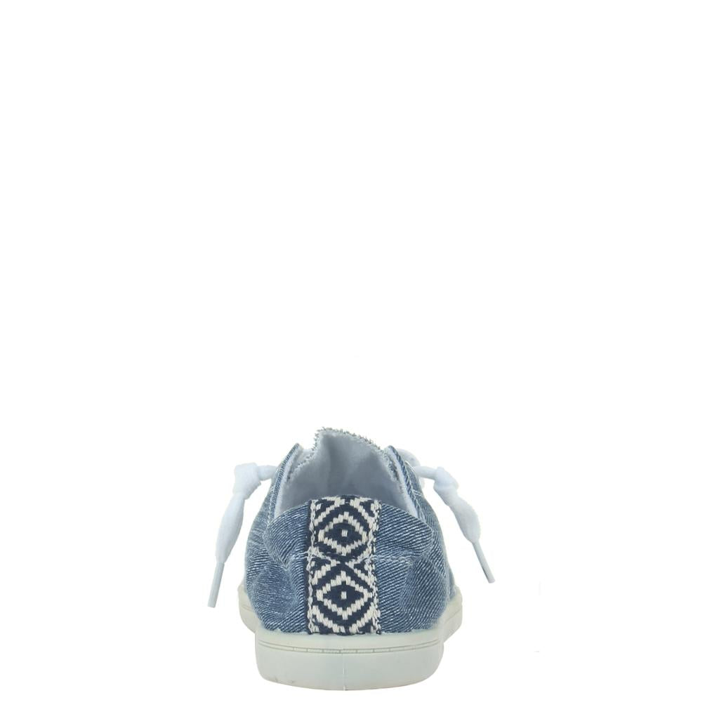 Blue Denim Sneakers - alma boutique