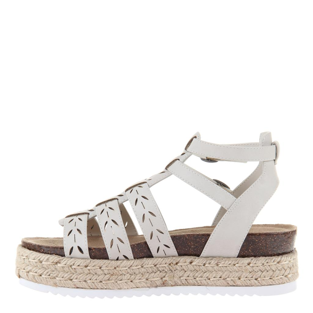 MADELINE GIRL - KINDRED in CHAMOIS Wedge Sandals - alma boutique