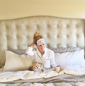 Wake me for Mimosas Sleep Mask - alma boutique