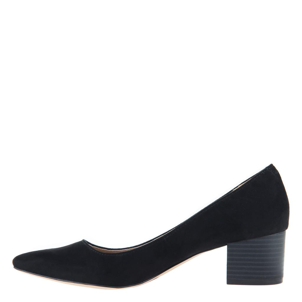 MADELINE - NOVEL in BLACK Closed Toe Pumps