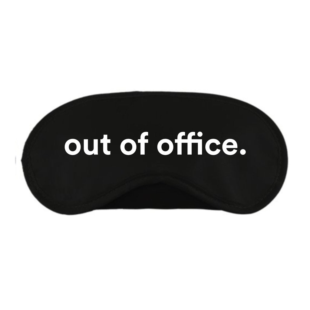 Out of Office Sleep Eye Mask - alma boutique