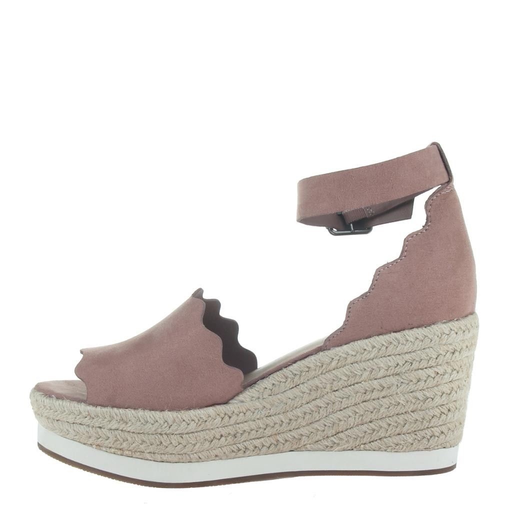 MADELINE - PHANTASTES in MAUVE Wedge Sandals - alma boutique