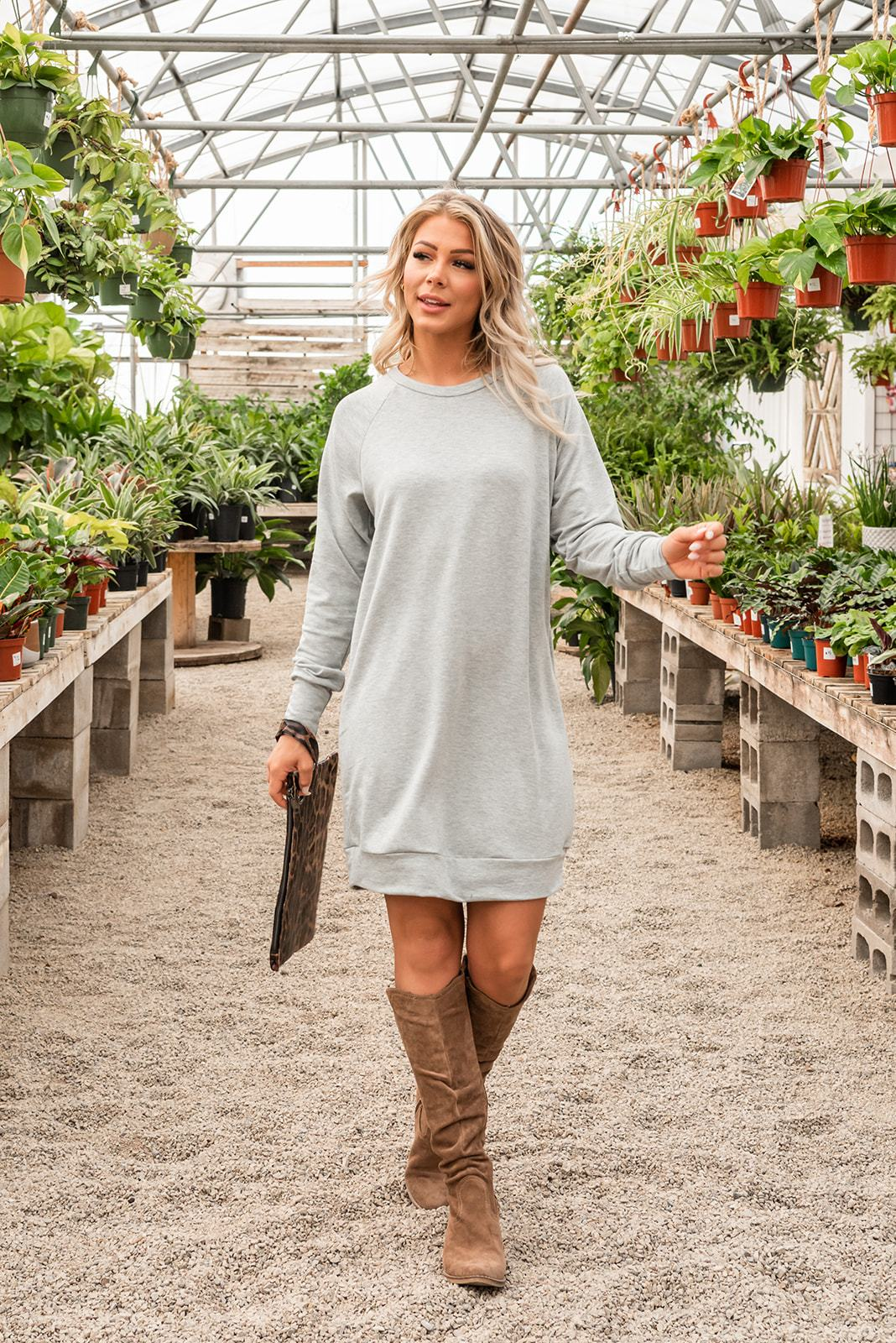 Sweetest Moments Sweatshirt Dress
