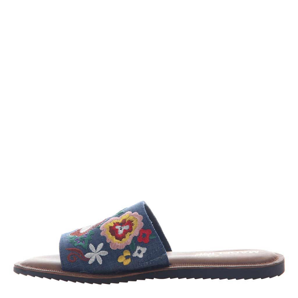 MADELINE GIRL - SUN KISSED in BLUE Sandals - alma boutique