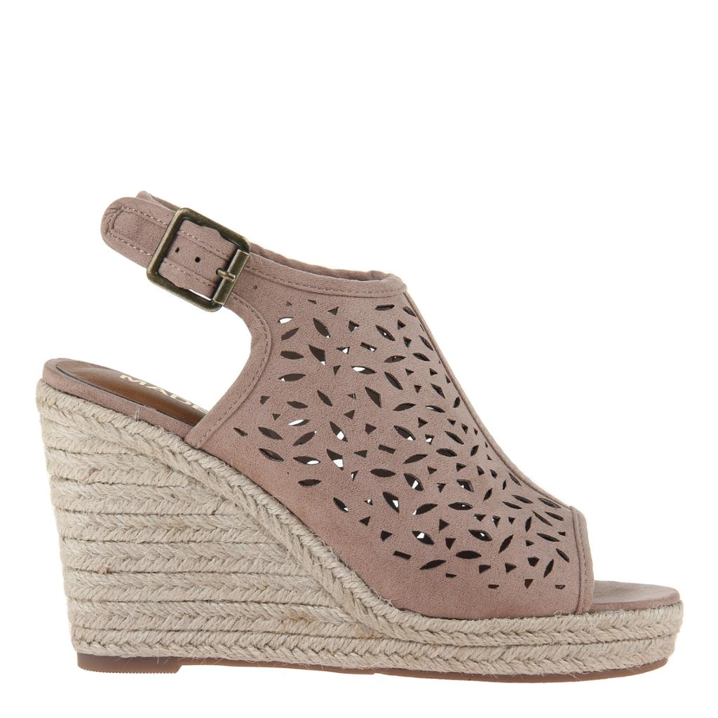 MADELINE GIRL - VERVE in WOODSMOKE Wedge Sandals - alma boutique