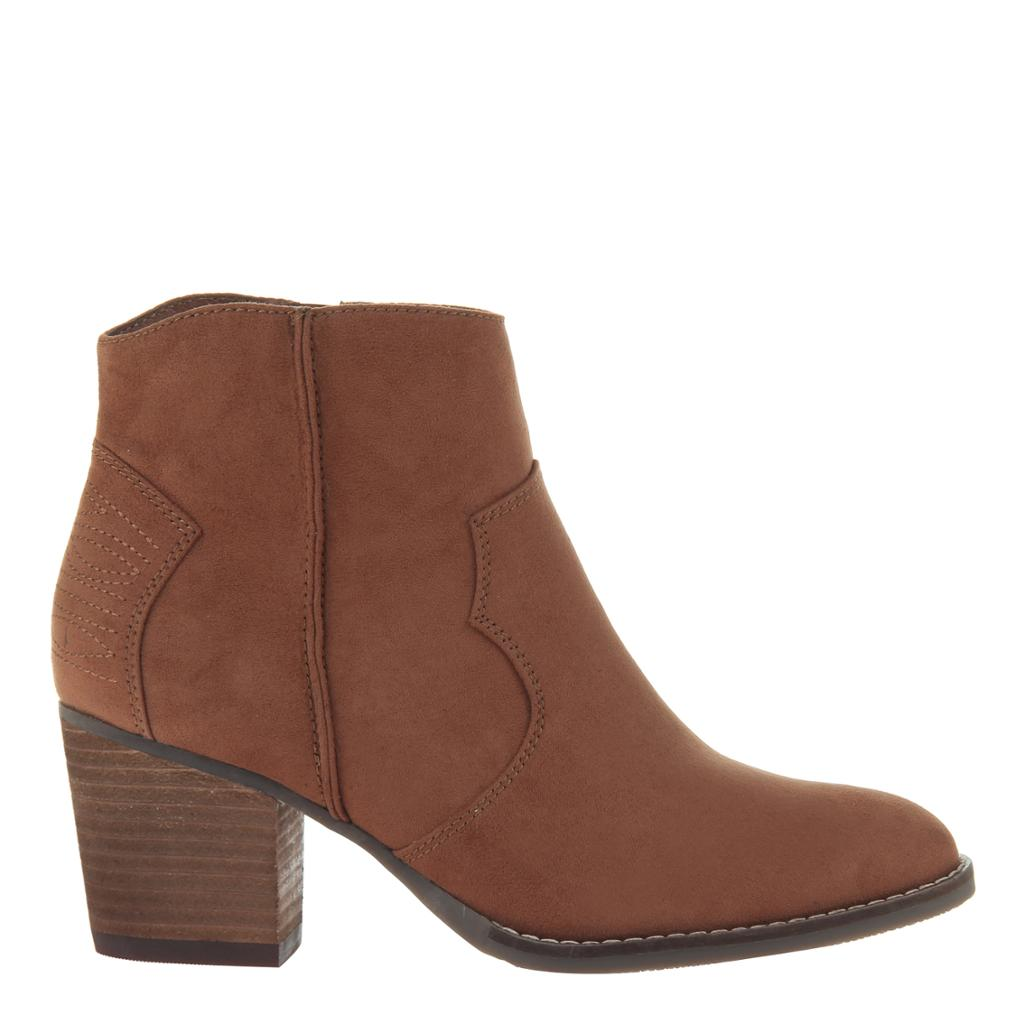 MADELINE - WILD WEST in WHISKEY Ankle Boots