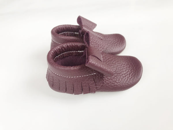 Plum Bow Moccs