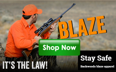 Backwoods Blaze Orange Hunting Gear
