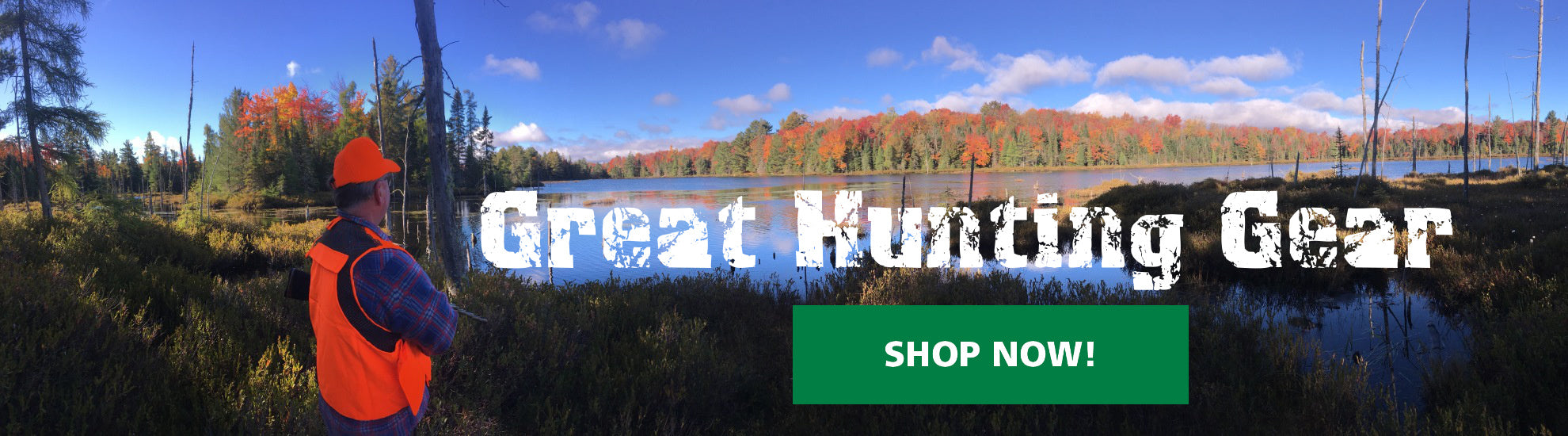 Shop for top quality hunting gear. Mens hunting gear, womens hunting gear and kids hunting gear.