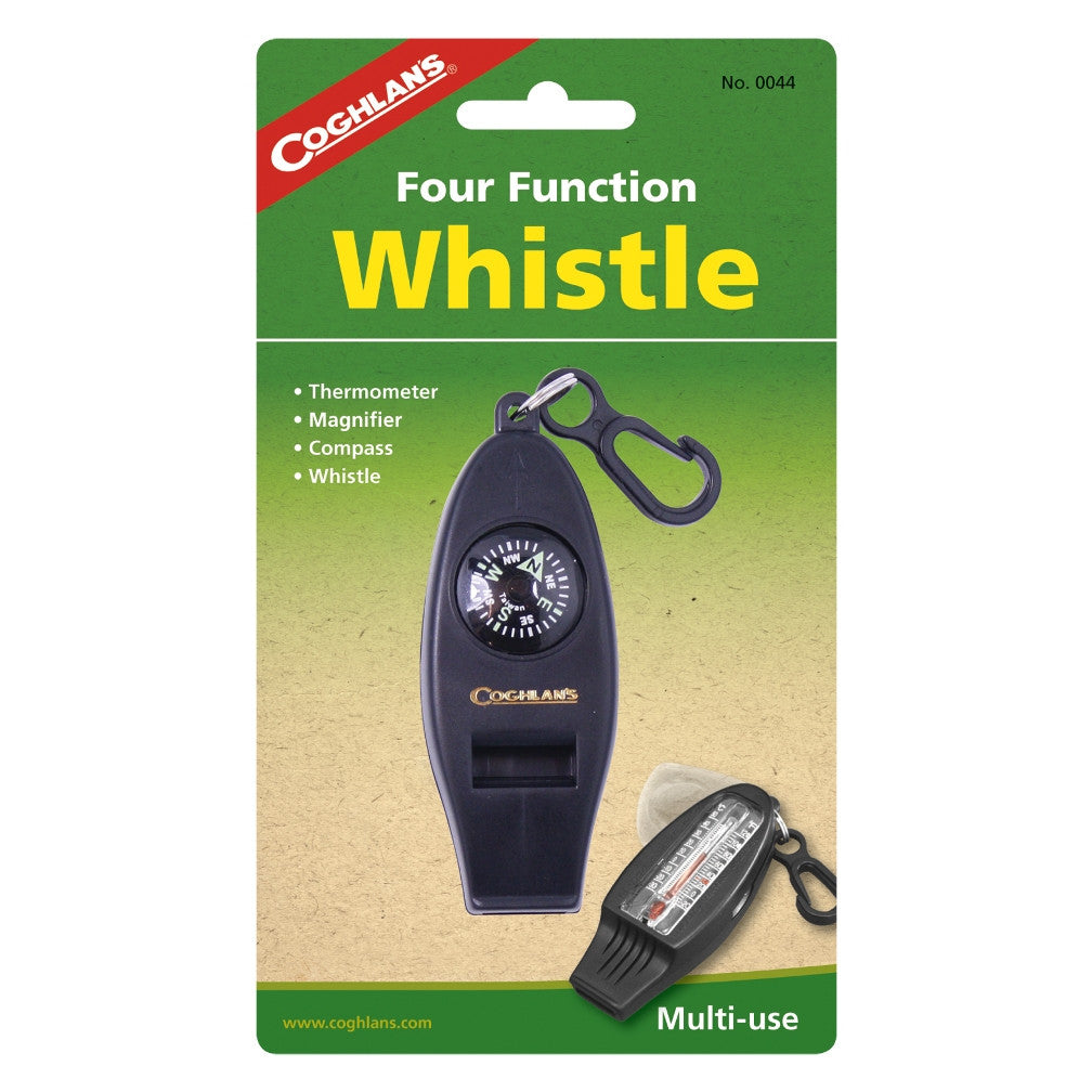 Four Function Survival Whistle - Survival Gear Canada