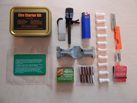 Fire Starter Kit - Survival Gear Canada