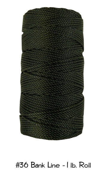 No.36 Bank Line - 1lb. Roll - Survival Gear Canada