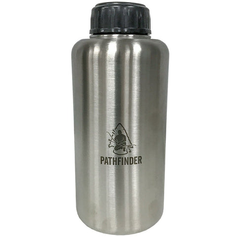 64oz Stainless Steel Widemouth Bottle - Survival Gear Canada