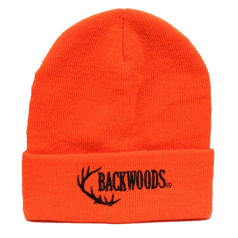 Blaze Orange Backwoods Touque - Survival Gear Canada