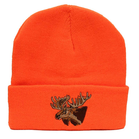 Blaze Orange Moose Touque - Survival Gear Canada