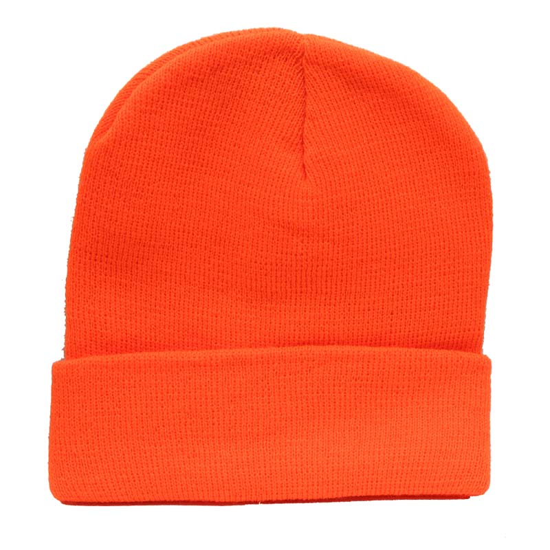 Blaze Orange Touque - Survival Gear Canada