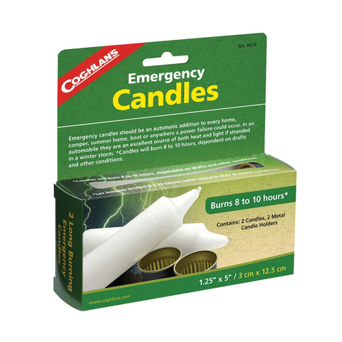 Emergency Candles - Survival Gear Canada