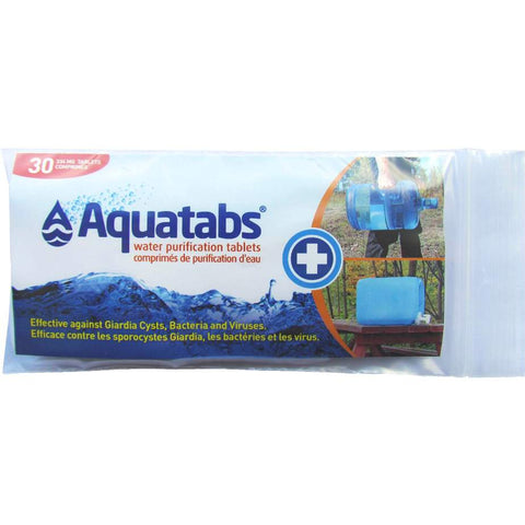 Aquatabs Water Purification Tablets 20 L
