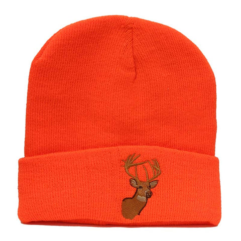 Blaze Orange Deer Touque