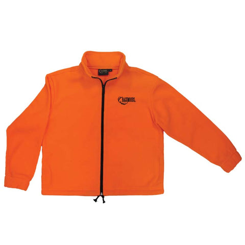 Kids Blaze Orange Fleece Jacket