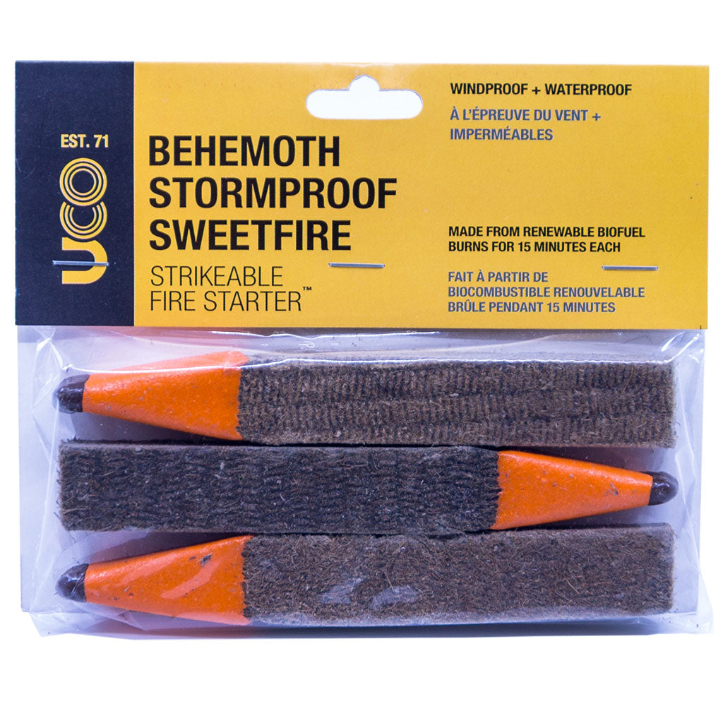 Behemoth Sweetfire Storm Proof Fire Starter - Survival Gear Canada