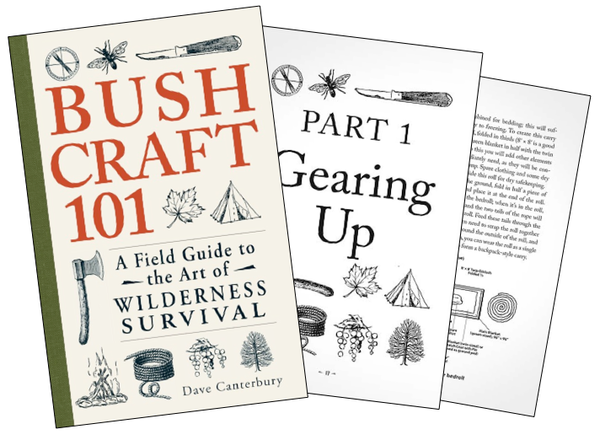 Bushcraft 101: A Field Guide to the Art of Wilderness Survival - Survival Gear Canada