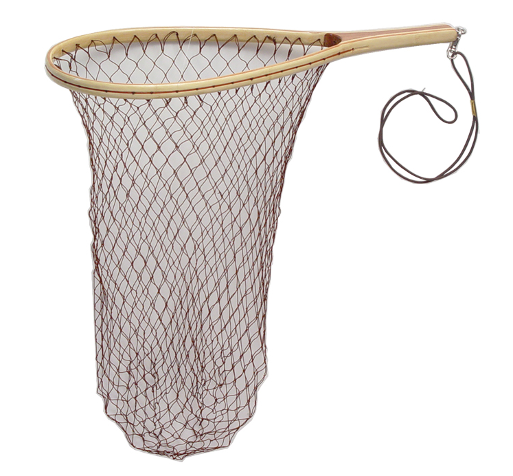 Handcrafted Wood Trout Stream Fishing Net
