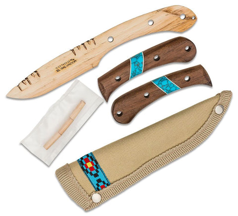 Condor Blue River Wooden Knife Kit