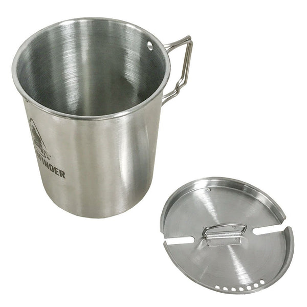 Stainless Steel 25 oz Cup & Lid Set - Survival Gear Canada