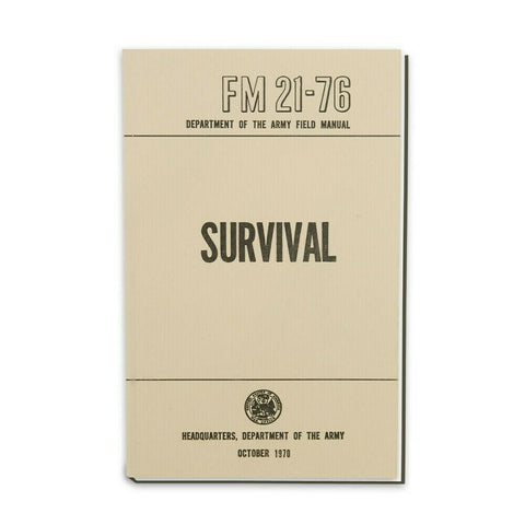 FM 21-76 Survival Manual - Survival Gear Canada
