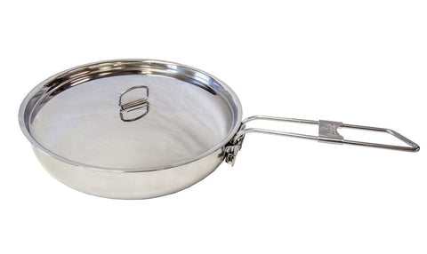Folding Skillet and Lid - Survival Gear Canada