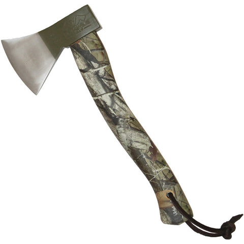 German Style Hatchet Camo Handle