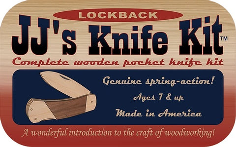 JJ's Lock Back Knife Kit - JJ4