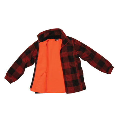 Kids Reversible Lumberjack Jacket - Survival Gear Canada