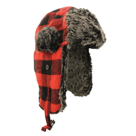 Lumberjack Fur Hat - Survival Gear Canada
