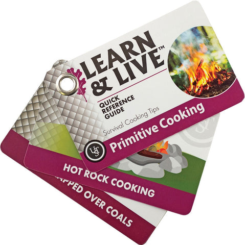 UST Learn & Live Cards Primitive Cooking