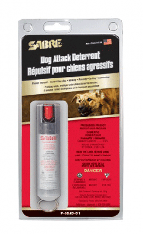 SABRE Dog Spray with Clear Key Case