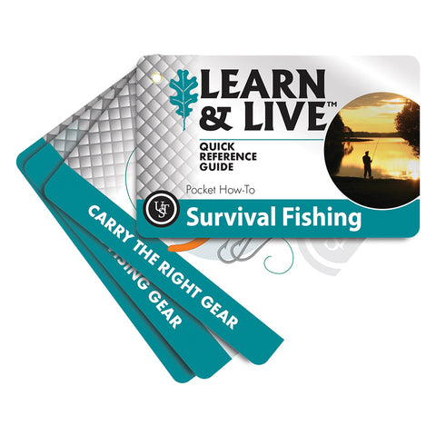 Learn & Live™ Cards – Survival Fishing