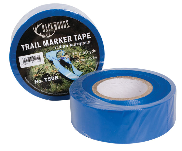 Blue Trail Marker Tape