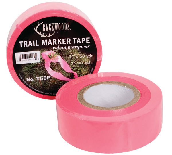 Pink Trail Marker Tape