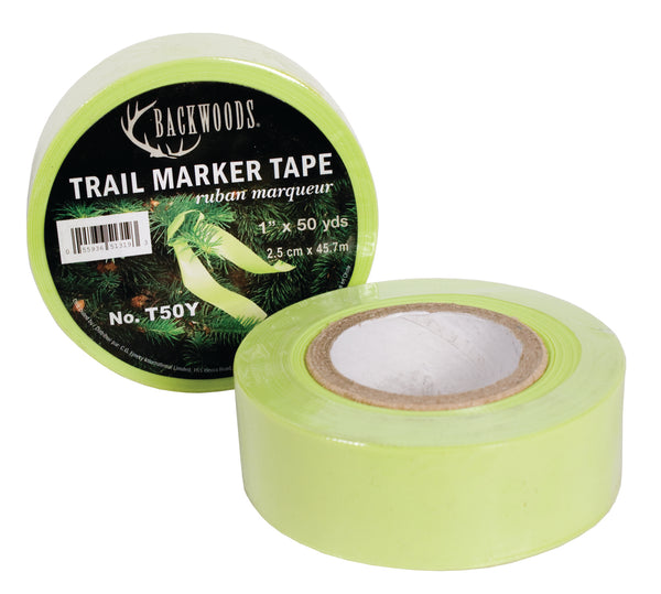Yellow Trail Marker Tape