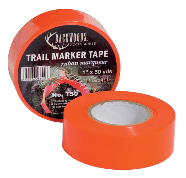 Orange Trail Marker Tape